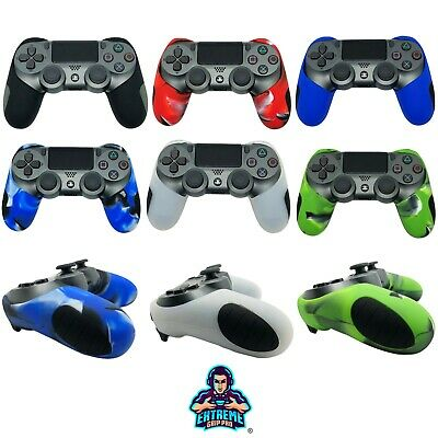 Extremegrippro Naked Custodia di Gomma Silicone Grips Cover pelle per PS4 Joypad