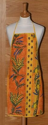 French Toile Du Jouy Provence Yellow Apron  *New*