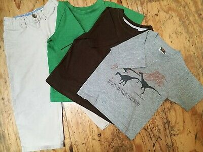 Four 4 x piece GAP & H&M Boys bundle ages 2-4 Tops T-shirts chinos trousers