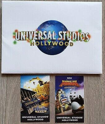 2 Hard Tickets- 1 Day General Admission Adult Universal Studios