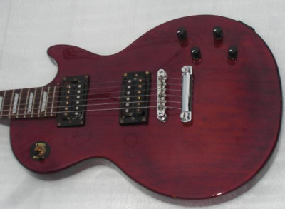 Epiphone by Gibson Les Paul Studio WR Slim Body See Thru Red Electric Guitar