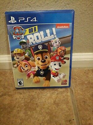 Paw Patrol On A Roll (Playstation 4/PS4, 2018)