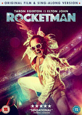 ROCKETMAN DVD - Region 2 UK - NEW & Sealed