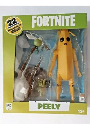 "Fortnite 🍌PEELY🍌 7"" Hyper Articulated Banana Action Figure New"