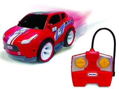 Little Tikes RC Wheelz First Racers RED RACE CAR ~ 49 MHZ Remote Controlled NEW
