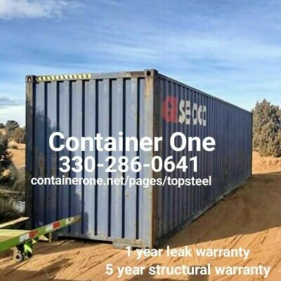 20 And 40 Steel Conex / Storage / Shipping Containers In Louisville KY