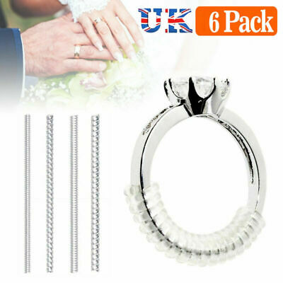 Tightener Invisible Ring Size Adjuster Set Reducer Pad Resizing Tool Fit All UK