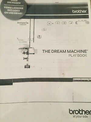 Brother Dream Machine Playbook guide instruction manual and usb