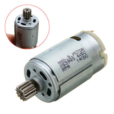 RS390 Electric Motor 6V 14000RPM For Kid Ride On Car Bike Toy Gear Box Motor