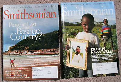 Smithsonian Magazine – Full Year 2007 + Special Fall Issue