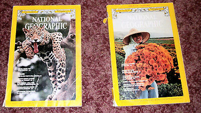 Two 1977 National Geographic Magazines