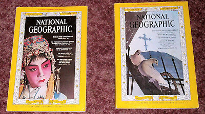 Two 1964 National Geographic Magazines
