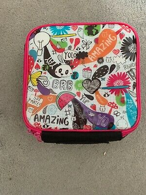 Girl's WHSmith Pictornial Patterned Lunch Bag