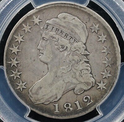 1812 50c Capped Bust Half Dollar PCGS VF 25