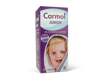 Carmol Junior- improvement of the symptoms caused by the respiratory infections