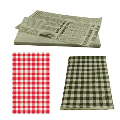Greaseproof Paper 200 Sheet Food Wrapping Sandwich Bread Baking 190 x 310 mm