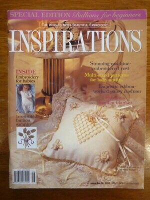 Inspirations Embroidery Magazine Issue 16 - 1997 - Country Bumpkin