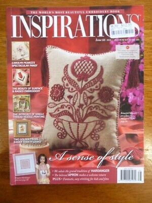 Inspirations Embroidery Magazine Issue 66 - 2010  - Country Bumpkin
