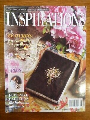 Inspirations Embroidery Magazine Issue 6 - 1995 - Country Bumpkin