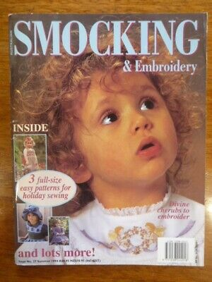 Australian Smocking & Embroidery Magazine Issue 27 - Summer 1994