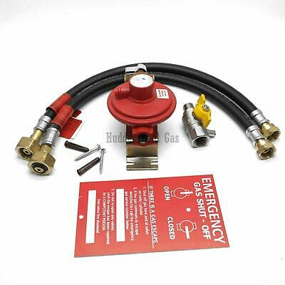 Irish Market 2 Cylinder Manual Changeover Kit for Propane LPG Cylinders