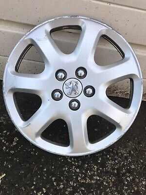 """Brand new silver 16/"""" wheel trims hubcaps to fit Peugeot Partner,Expert,407,508"""