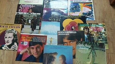 Large Collection Of Records Mixed Genre House Clearance Car Boot