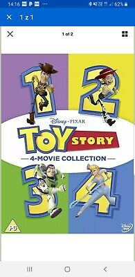 toy story dvd 4 movie  collection