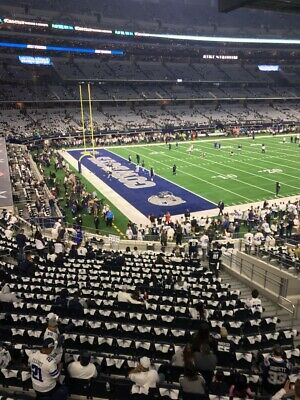 2 Front Row Ll Dallas Cowboys Vs Washington Redskins Tickets - N/R