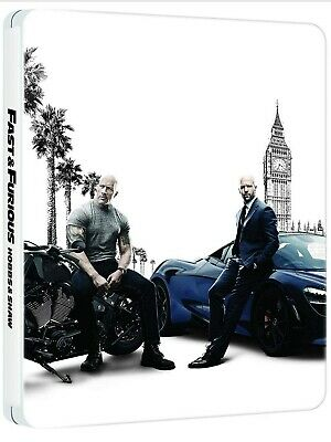 Fast and Furious Presents: Hobbs & Shaw Limited Edition Steelbook 4K Ultra HD +