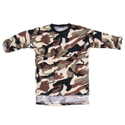 Kids Baby Girls Toddler Army Green Camouflage Casual Loose Dress