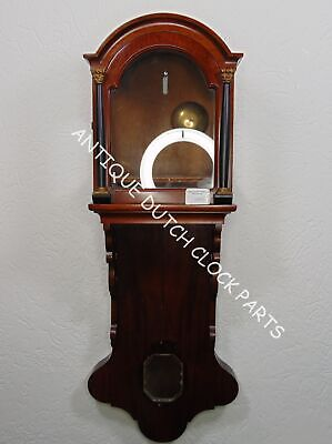 Warmink Replacement Case For Dutch Friesian Tail Clock Mahogany
