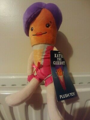 Aldi Official Katie the Carrot 2019 Soft Toy