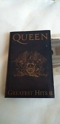 QUEEN Greatest Hits II Cassette Tape - 1991 Parlophone TCPMTV 2