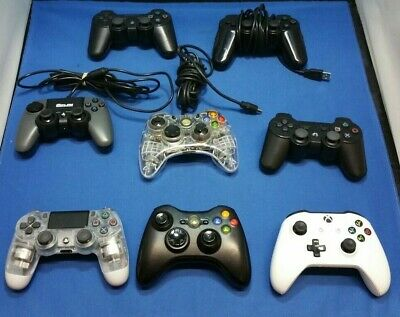 *Faulty Job Lot Game Controllers - Microsoft Xbox 360 Sony PS Controllers*