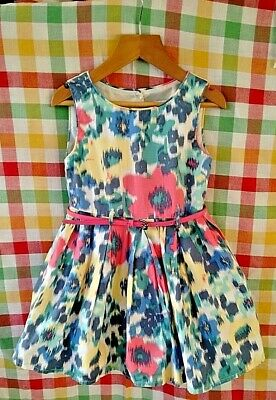 Girls Belted Party Dress John Rocha Brand Age 4 Ex Display