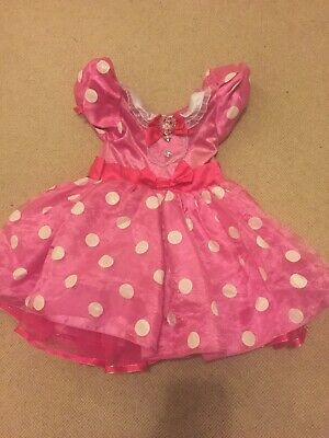 Minnie Mouse Dressing Up Dress Age 4 Years