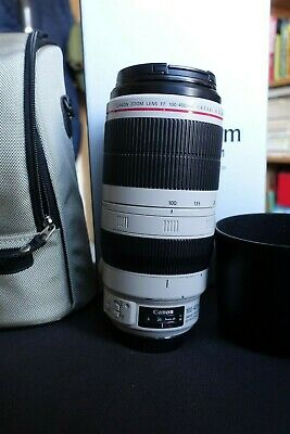 Canon EF 100-400mm f4.5-5.6 L IS USM Mark II Lens - boxed with hood