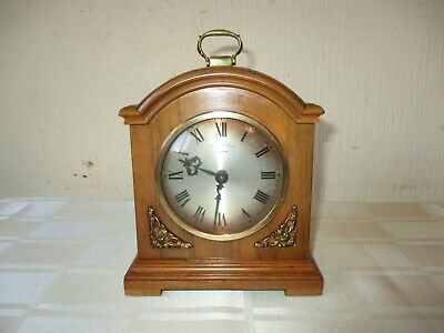 Rare Vintage Thwaites & Reed Bell Striking Bracket Clock