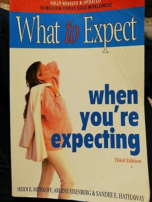 Book What to Expect when youre expecting, new mum, secondhand, Third edition