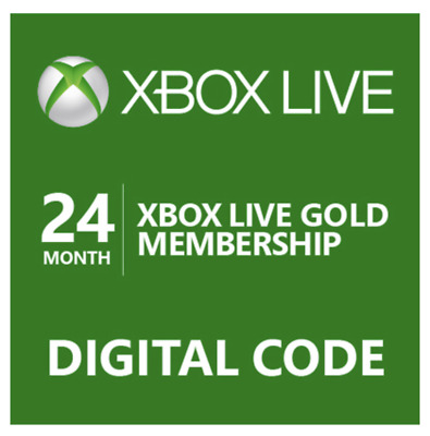 Xbox Live 24 Month Gold Membership Us Digital Code Quick Email Delivery!