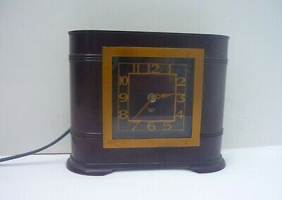 SMITH Sectric ART DECO ERA ELECTRIC bakelite CLOCK