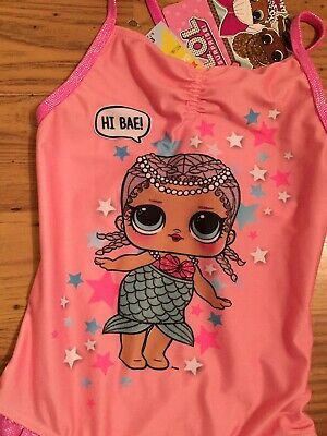 Girls Swimsuit Age 6/7 Years Lol Surprise Bnwt