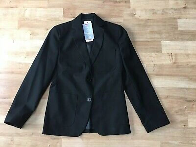 Marks & Spencer Girls Black School Blazer, Age 11 Regular, BNWT