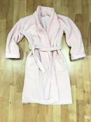 The Little White Company Girls Pink Dressingown, Age 7-8 Years