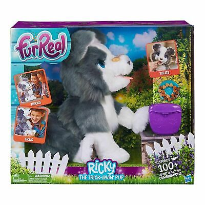 FurReal Friends Ricky the Trick-Lovin' Interactive Plush Fur Real Pet Puppy Dog