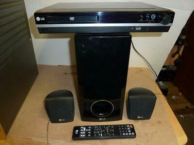 LG  HT253 CD Receiver With Remote, Subwoofer and 2 Speakers