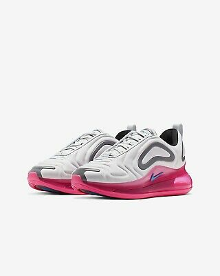Nike Air Max 720 Trainers Women's Uk Size 1 EUR 33 AQ3196 008 Girls New GS Pink