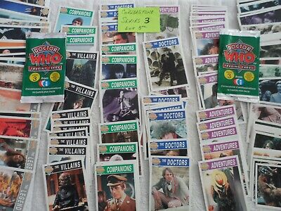 CORNERSTONE CARDS 5TH LOT  series 3  DOCTOR WHO