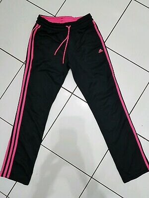 Girls Adidas Age 13-14 Years Tracksuit Bottoms Joggers Trousers Sports